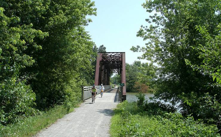 Area Attractions - Katy Trail