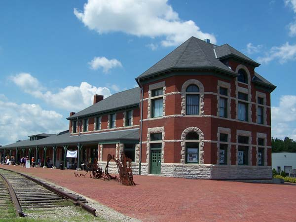 Area Attraction - Katy Depot in Sedalia, MO